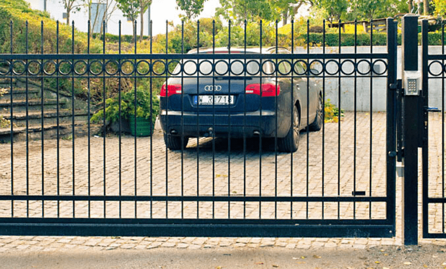 parkering stängsel