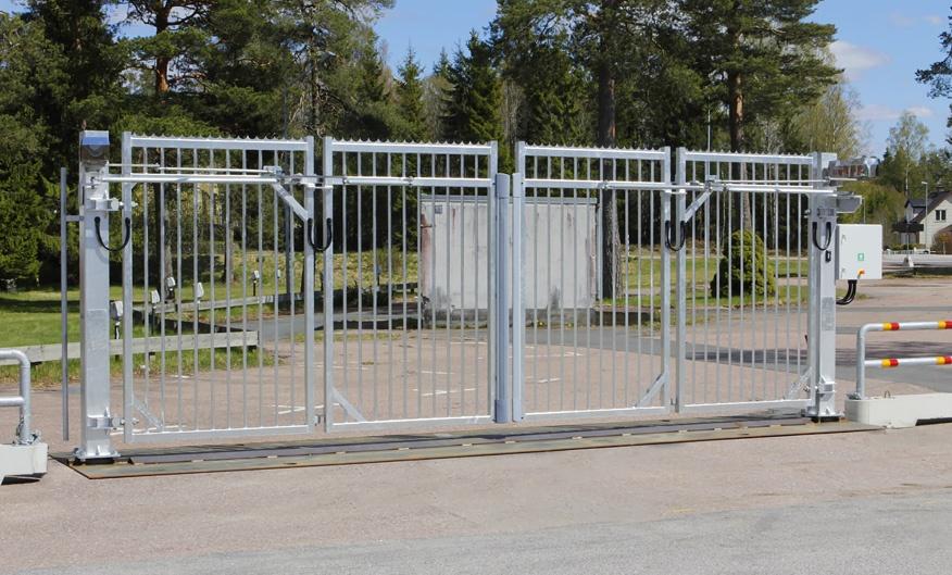 Mobil Vikgrind Jet-Gate