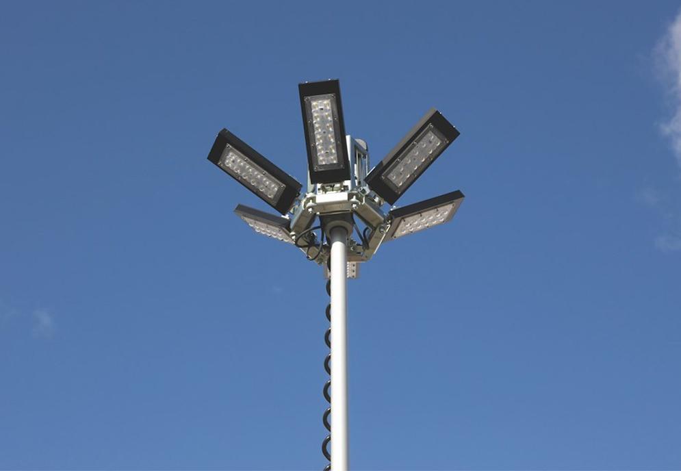 Belysningsmast M 4m