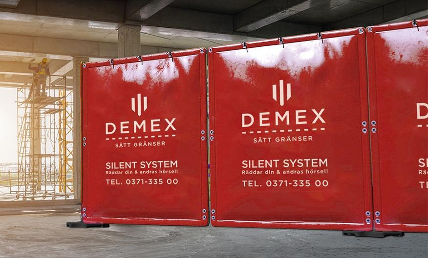 Demex bullerskärmar